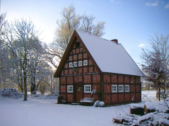 Backhaus im Winter