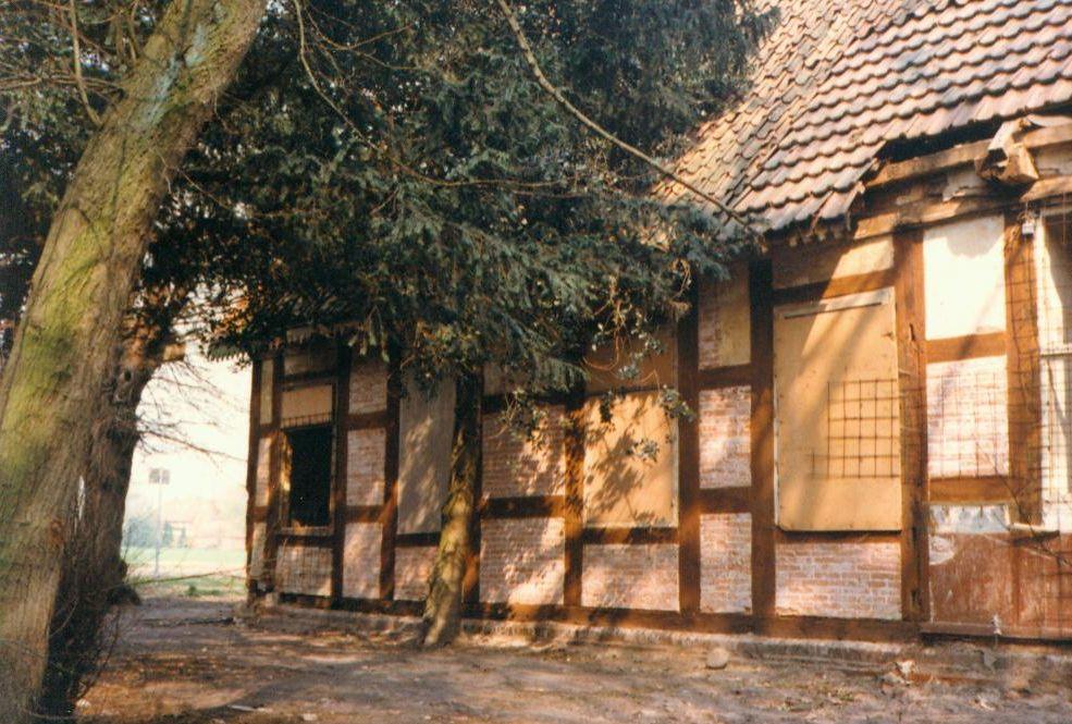 Gutshaus vor Renovierung