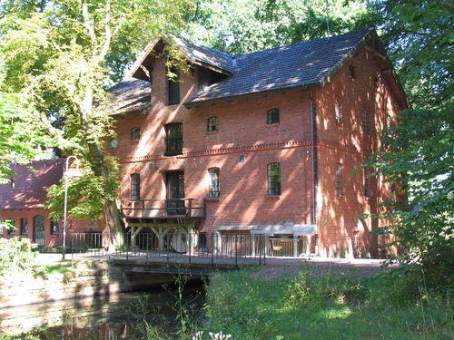 Wassermühle Rückseite