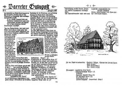 Gutspost - Nr. 1 von 1980