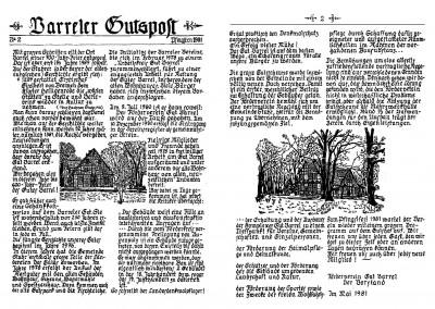 Gutspost - Nr. 2 von 1981